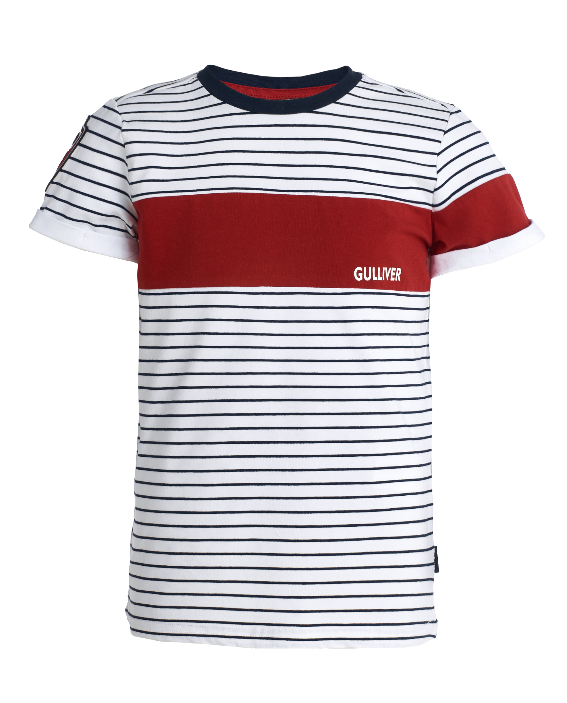 d63310f64 T-shirt with asymmetric print Gulliver is to buy in online store ...