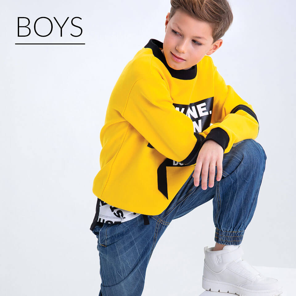 Main page: Children's clothes for boy
